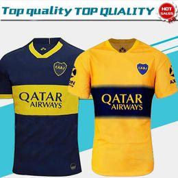 Boca juniors uniformes de futbol online-2019 Boca Juniors Home Blue Soccer Jerseys 19/20 Boca Juniors away amarillo Camisetas de fútbol para adultos Uniformes de fútbol Ventas Envío gratis