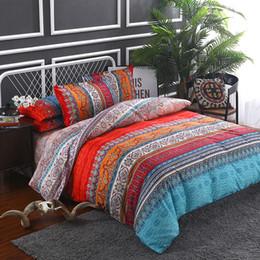 2/3 Adet Bohemian 3D Yorgan Yatak Takımları Mandala Nevresim Set Yastık Kılıfı Ikiz Tam Kraliçe Kral Etnik Stil Çarşaflar Yatak Örtüsü supplier 3d duvet cover bedding sets king nereden 3d yorgan örtüsü yatak setleri krallar tedarikçiler
