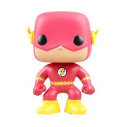 Giocattoli ad azione flash online-Hot Funko POP Comics The Flash Vinyl Giocattoli per bambini Action Figure con Box Toy Gift Doll di buona qualità