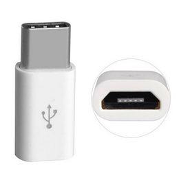 Cabo otg para blackberry on-line-Feminino Micro Usb para Tipo C Masculino Adaptador de Carregador de Cabo USB Sincronização de Dados adaptador de Transferência OTG USB 3.1 300 pçs / lote NENHUM PACOTE