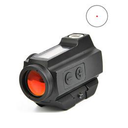 Visão óptica sniper on-line-1x20 Red Dot Sight 3 MOA Mira de Reflexo Mini Red Dot 20mm Âmbito de Energia Solar Pannel Optics Scope Sniper Airgun Air Rifle