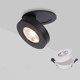 Illuminazione a soffitto della cucina rotonda online-Faretto da incasso a soffitto 3W 5W 7W 10W Faretto da incasso a soffitto rotondo 220V 110V LED Lampada da soffitto Lampadina Camera da letto Cucina Spot Illuminazione interna