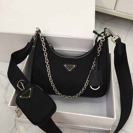Conjuntos de bolsos online-diseño de lujo del monedero de hono lona del hombro material de la bolsa conjuntos de correa de cadena PADA crossbody bolsa de diseñador PAD