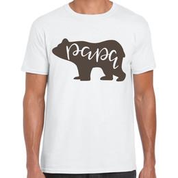 Schwarze graue lederjacke online-Papa oso - Camiseta Hombre - Regalo Divertido Camiseta weiß schwarz grau rote Hose Jacke Kroatien Leder T-Shirt