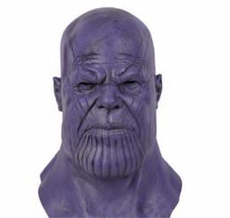 Thanos Cosplay Acessórios Vingadores Máscara De Látex Halloween Festa de Dança Adereços Coleção Coleta de