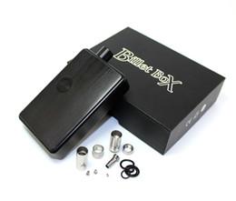 horno atomizador vape Rebajas Nueva llegada SXK Billet Box SXK 70w b box con puerto USB rev.4 Dispositivo negro dober color bb box Envío gratis