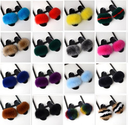 Sıcak satış Lüks çocuk 100% Tilki Kürk Terlik Kabarık Gerçek Saç Tasarımcı Çevirme Bayanlar Sevimli Sandal Moda Kürklü çocuklar Terlik supplier sandals hair nereden sandal saçları tedarikçiler