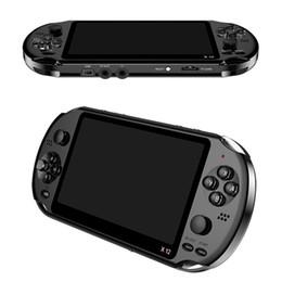 """Mp4 suporte de vídeo on-line-X12 Handheld Game Player 8 GB de Memória Portátil Consoles De Videogame com 5.1 """"Tela Colorida Suporte TF Cartão 32gb MP3 MP4 Player"""