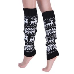 162a2aba47 pink black knee high socks NZ - wholesale 2018 2 Pairs Winter Long Leg  Warmers Women