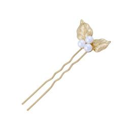 2019 tiara coroa vintage branco Nova Moda Hairpin Clássico Acrílico Folha de Pérola Gancho de Cabelo Para As Mulheres Melhor Venda Por Atacado Acessório de Jóias Feitas À Mão