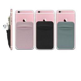 Deutschland Case Bac Klebstoff Kartenhalter Handytasche für Telefon Brieftasche Lycra Karten Ärmel 3M Gadget für iPhone Samsung Huawei Handy Cover Versorgung