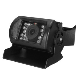 Freeshipping KROAK 12 / 24V caméra de recul caméra de recul 18 LED IR camion de camion inversant la caméra de vision nocturne étanche ? partir de fabricateur