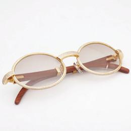 Pedras oval on-line-Diamante Óculos De Sol para Homens de Luxo Completa Pedras Óculos de Sol para As Mulheres Retro Rodada Óculos De Sol Da Moda Eyewear para a Condução e Clube Shinnig Quadro