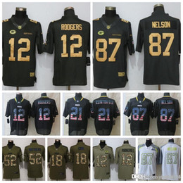 7ec1b7495 Mens Green Bay Packers Jersey 12 Aaron Rodgers 17 Davante Adams 23 Jaire  Alexander 80 Jimmy Graham 52 Clay Matthews 37 Josh Jackson Jerseys