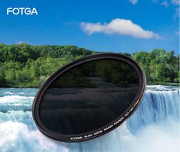 FOTGA 46/49/52/55/58/62/67/72/77 / 82mm Ayarlanabilir İnce Fader ND2-400 Filtre Lens Koruyucu Değişken Nötr Yoğunluk ND2 ila ND400 nereden