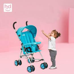 70fa427d1 2019 carritos de ruedas Cochecito de bebé paraguas coche Verano Buggy  Ligero Mini Niño Plegable Trolley