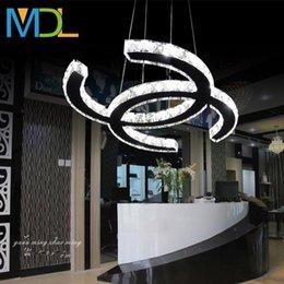 pequeña araña de cristal blanco Rebajas Las lámparas de cristal modelo LED 15w 18w 35w 48w llevaron lámparas de techo montadas en lámparas empotradas para el hogar del hotel, habitaciones, lámparas de dormitorio