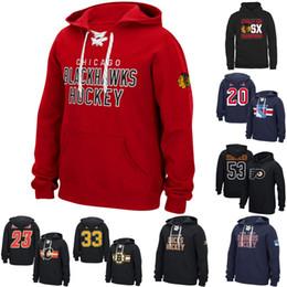 Blackhawks personalisiertes jersey online-Calgary-Flammen-Kapuzenpulli Chicago Blackhawks Boston Bruins New Yorker Rangers-Philadelphia-Flieger personifizierte kundenspezifische Hockey-Sweatershirt Jerseys