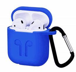 Мода для Airpod Proective of Airpods Обложка кабеля связи Беспроводная связь Bluetooth для наушников Силиконовый чехол Водонепроницаемый анти-капля ремешок Аксессуары от