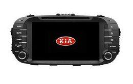 honda civic car dvd gps player Скидка Бесплатная доставка 8 дюймов Окта ядро 4 ГБ оперативной памяти Andriod 8.0 DVD-плеер автомобиля для Kia 2014 SOUL с GPS, управление рулевого колеса, Bluetooth, радио