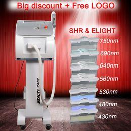 Laser de levage de peau en Ligne-Le plus populaire OPT SHR IPL équipement de beauté laser nouveau style SHR IPL machine OPT AFT machine de beauté épilation IPL Elight Skin Rajeunissement