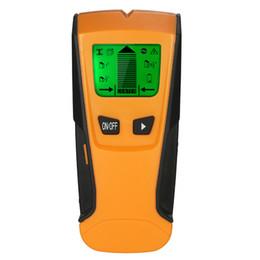 2019 bodensuche metalldetektor 3 In1 Digital Metalldetektor Holz Metallbolzen Finder AC live Draht Detektor Wand Scanner Electric Box Finder Tiefe Wand Detektor