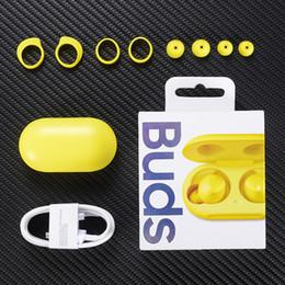 Auriculares 3d online-Marca estéreo TWS auriculares con cargador Galaxy Brotes caja Bluetooth Auriculares A + Calidad de auriculares Auriculares 3D