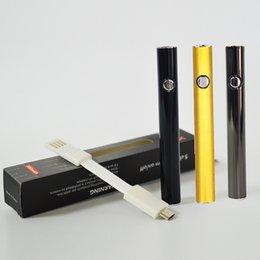 Cera máxima online-Auténtico Amigo Max Precalentamiento de la batería 380 mAh Cigarrillos electrónicos Voltaje 510 Hilo Vape Pluma Batería para cartuchos de pluma de vaporizador de cera