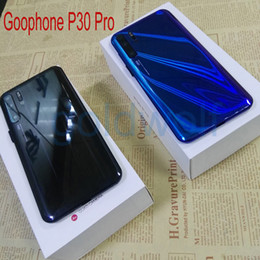 "micro player Promo Codes - Cheap Goophone P30 Pro 6.5"" Android 9.0 Show 8GB 128GB Show 4G With Micro SD Card 3G WCDMA Unlocked CellPhone"
