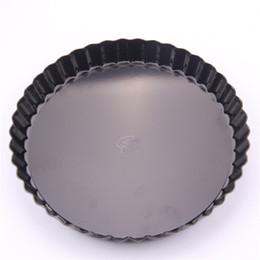 дюймовый кекс Скидка Форма для выпечки торта с черным дном для пирога с хризантемой 6 8 10 11 дюймов Anti Wear Hot Sale 18 5am4I1