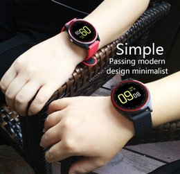 2019 pantalla táctil redonda reloj deportivo Soporte para la cámara inteligente reloj V9 Bluetooth SmartWatch tarjeta SIM Reloj de pulsera de reloj del deporte Hombres Mujeres Niños usable Dispositivos