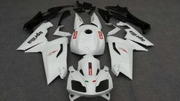 Aprilia rs 125 weiße verkleidung online-Spritzgießwerkzeug Fairing Fit For Aprilia RS125 2007 2008 2011 Karosserie RS 125 07 08 09 10 11 White Fairings Set