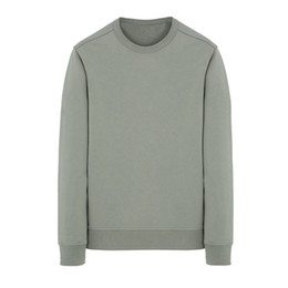 roupa hiphop frete grátis Desconto 19SS 62751 Crewneck CAMISOLA Long Sleeve T Shirt contínuo simples camisola Moda pulôver Sportwear Rua HFLSWY293