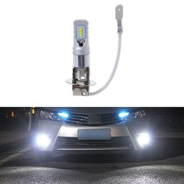 44AB 2017 H3 6500K White 24-SMD LED High Power Bulb DRL Fog Light Lamp Bulb DC
