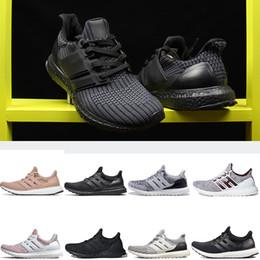 568b06072d A buon mercato all'ingrosso Ultraboost runner scarpe 4.0 Mens Running Shoes  Oreo triple bianco Nero CNY uomo calzino dart sneakers 5-12 spedizione  gratuita ...