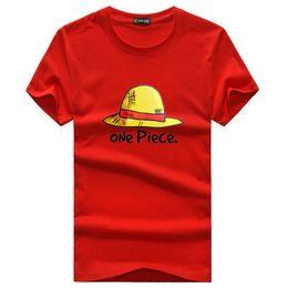un pezzo camicia luffy Sconti Mojamcos Anime One Piece Rufy Cappello di  paglia T-Shirt 31bd42da9142