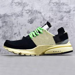 new product da00f ffcaf Presto BR QS Chaussures De Course Hommes Sneaker Tripel Noir Blanc Rouge  Womens formateur de sport chaussure athlétique Jogging Casual chaussures de  ...