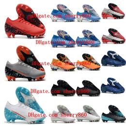 2019 mens morsetti di calcio Superfly 7 Elite SE FG CR7 Neymar scarpe da calcio Mercurial Vapori 13 Scarpe ramponi Calcio De scarpe da calcio
