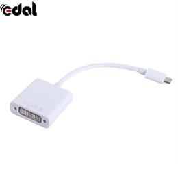 cable dvi de apple Rebajas USB C a DVI Convertidor USB 3.1 Tipo C a DVI Adaptador de pantalla hembra Compatible con cable de video 1080P para Apple Macbook Pro 2016