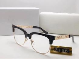 Marcos de anteojos para hombre negro online-2019 Brand New Black Eyeglasses Frames Hombre Mujer Gafas para hombre Gafas de sol Hombre Mujer Gafas oscuras Gafas de gran tamaño Marco cuadrado UV400