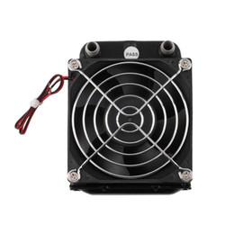 Ventiladores de refrigeração do processador central de alumínio on-line-80 milímetros de água de alumínio Heatpipes refrigerador Row trocador de calor do radiador CPU Fan PC