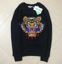 2019 alta calidad bordado Tiger head hombres mujeres Hoodie Hip Hop Streetwear Hoodie Jogging Pullover Sport moda streetwear Hoodies desde fabricantes