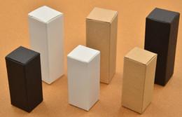 10 ml 20 ml 30 ml 50 ml 10 ml blanc noir kraft papier boîtes pour huile essentielle bouteilles compte-gouttes bouteille emballage cadeau boîte imprimer logo ? partir de fabricateur
