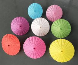 Guarda-sóis de casamento nupcial guarda-chuvas de papel Colorido mini guarda-chuva de artesanato Chinês Diâmetro 20/30/40/60 cm guarda-chuvas de casamento para atacado de