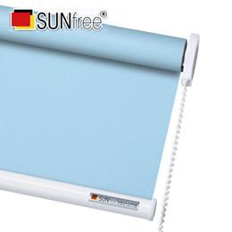 Tende avvolgibili Sunfree Daylight e Blackout Personalizza dimensioni Tende avvolgibili in tessuto semitrasparente o full shade da perline catena di plastica all'ingrosso fornitori