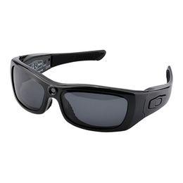 Auriculares bluetooth para cámara online-Mini Gafas Videocámara HD Gafas de sol Cámara Lente polarizada Gafas inteligentes DV con auricular Bluetooth Deportes Esquí Conducción Forense Diario