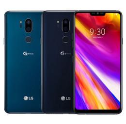 """2019 grátis iphone 5c desbloqueado Original Desbloqueado LG G7 ThinQ G710 6.1 """"4G LTE Octa Núcleo Dual 16MP Câmera Traseira 4 GB 64 GB Octa Núcleo Android remodelado celular"""