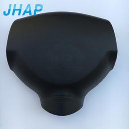 Canada Couverture d'airbag de voiture de haute qualité SRS pour Mitsubishi Lancer 08-14 Couverture de sac gonflable de volant de direction (emblème / logo inclus) cheap lancer emblems Offre