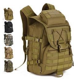 2020 большие сумки для рюкзака для армии 45L Большой Емкости Человек Армия Тактические Рюкзаки Нападения Сумки Открытый Молл Пакет Для Походов Отдых На Природе Охота Сумка дешево большие сумки для рюкзака для армии