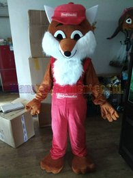 High quality Fox in Pants Mascot Costume Carnival branch Parade Quality Clowns Halloween party activity Fancy Outfit Free Shipping nereden xl tilki cadılar bayramı kostümü tedarikçiler